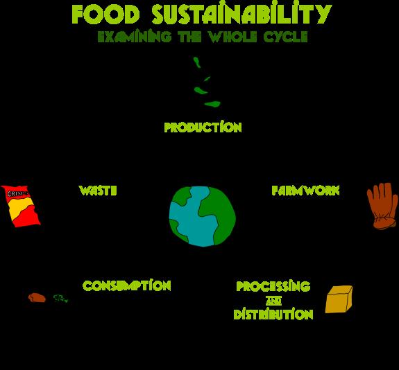 essay on sustainable food production